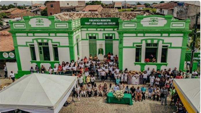 MURITIBA:Prefeitura reinaugura Biblioteca Municipal e entrega dois novos Espaços Culturais