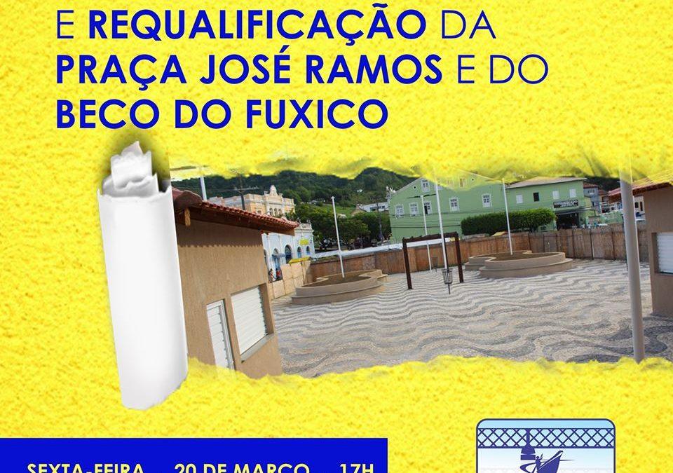 SÃO FÉLIX : Prefeitura entrega nesta sexta-feira, dia 20 de março a Praça José Ramos e o Beco do Fuxico totalmente reformados e requalificados
