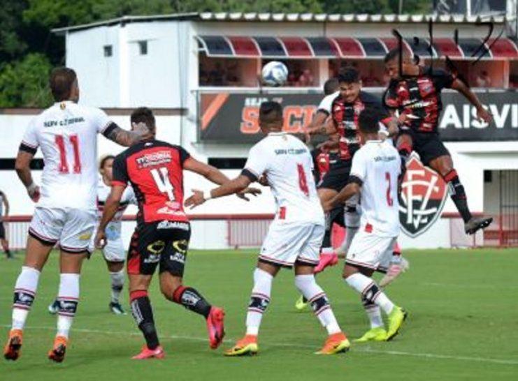 Vitória goleia o River-PI, no Barradão, pela Copa do Nordeste