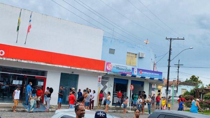 Covid-19: Filas em Bancos continuam sem dimensão em Muritiba; Prefeitura fará reunião com gerentes das agências