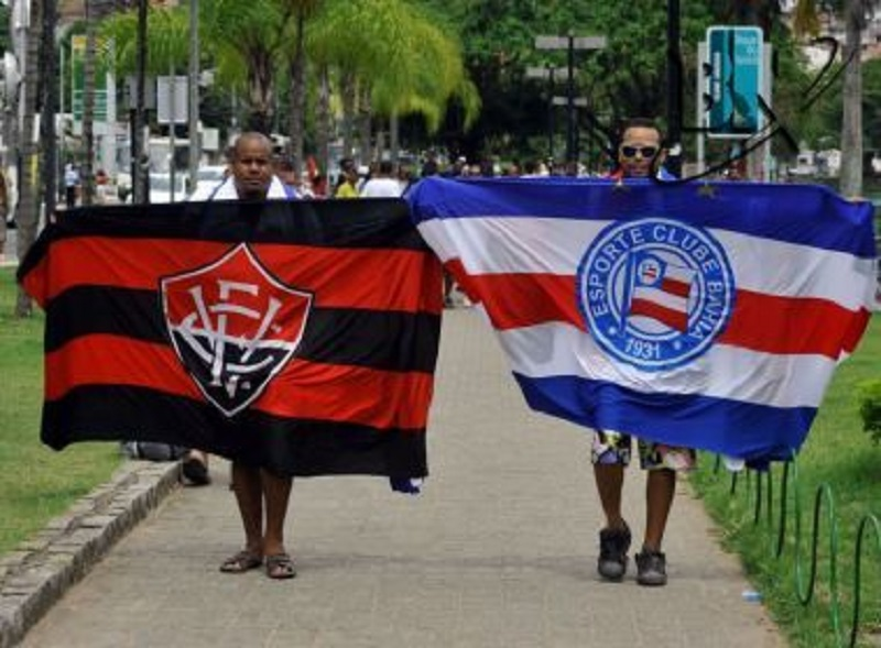 Dupla Ba-Vi continua entre os 20 clubes do país com mais seguidores nas redes sociais