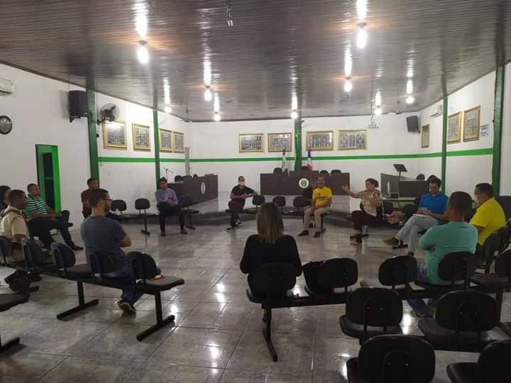 Prefeitura de Muritiba se Reuniu Com a Comissão de Enfrentamento ao Coronavírus na manhã desta segunda-feira (06)