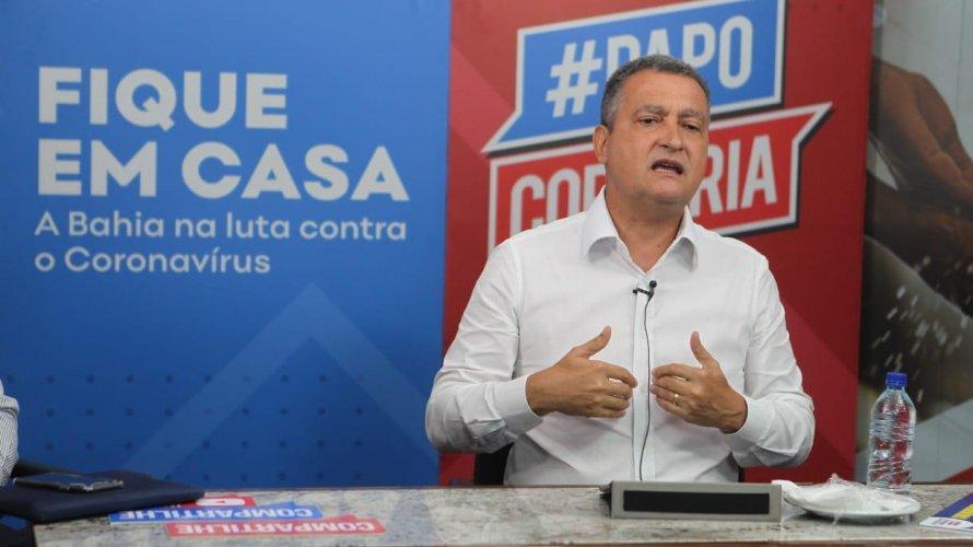 Rui Costa sanciona lei que obriga uso de máscaras na rua, ambiente de trabalho e trânsito