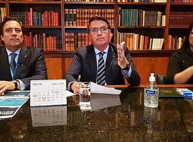 Bolsonaro acredita em retomada de atividades no país em até quatro meses