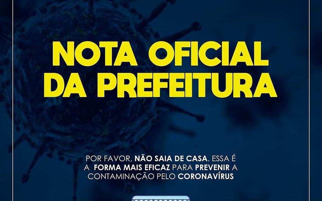 SÃO FÉLIX:  Prefeitura informa que a partir desta segunda-feira (06) estará realizando BARREIRAS SANITÁRIAS nas entradas da cidade