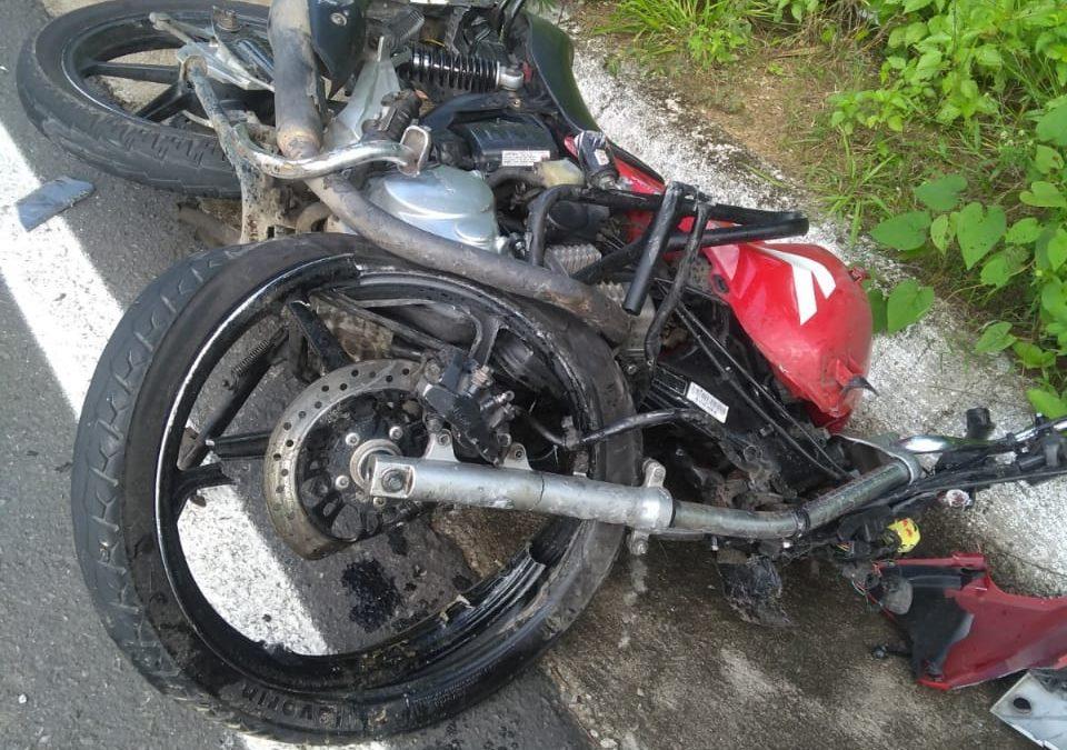 Maragogipe: Acidente entre carro e moto deixa vítima fatal