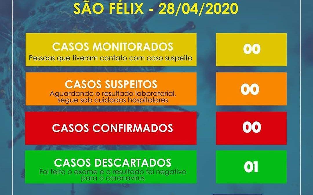 São Félix: 01 caso suspeito de coronavírus é descartado