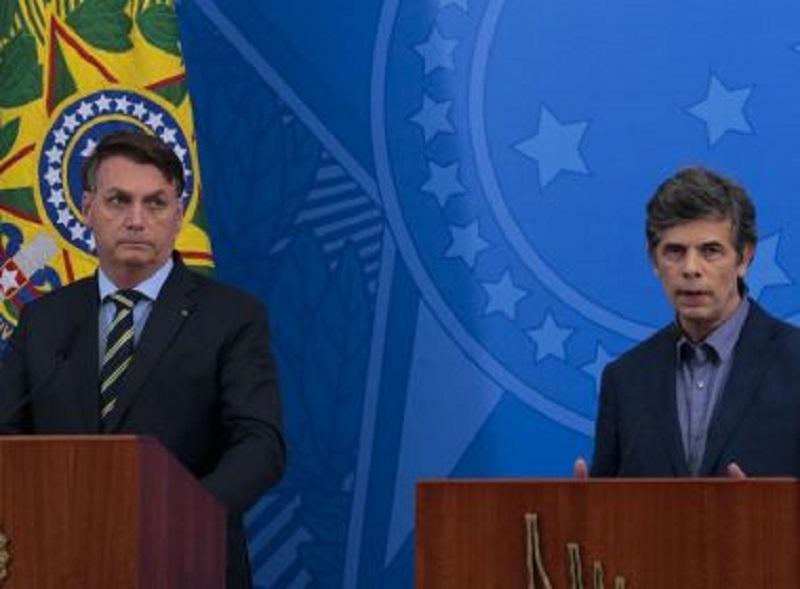 Novo ministro da Saúde diverge de Bolsonaro sobre fim da quarentena
