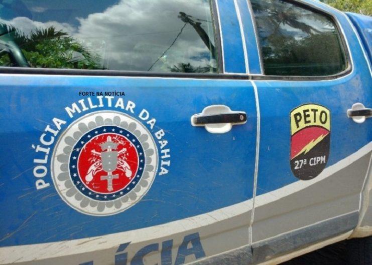 Dois homens morrem e uma mulher fica ferida durante troca de tiros com a PM em Muritiba