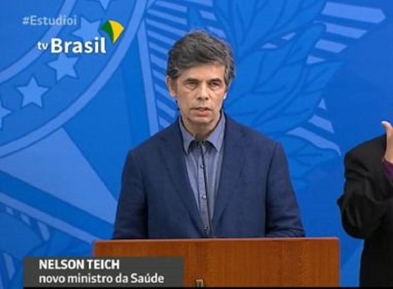 Substituto de Mandetta, Nelson Teich defende que 'saúde e economia são complementares