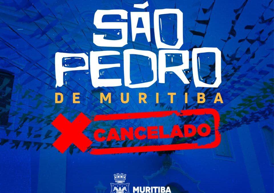 Muritiba: Prefeitura Municipal Cancela festejos do São Pedro deste ano