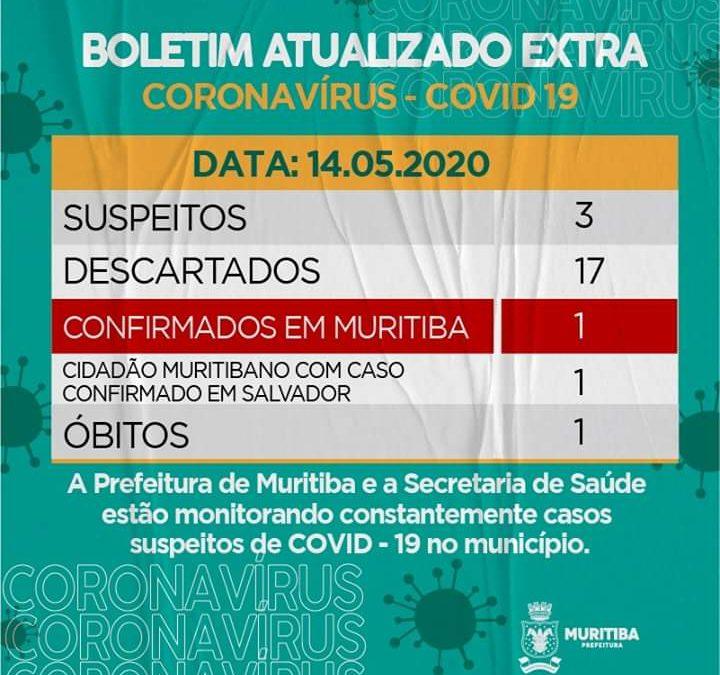Muritiba confirma segundo caso de Coronavírus (Covid-19), sendo o primeiro dentro do município;