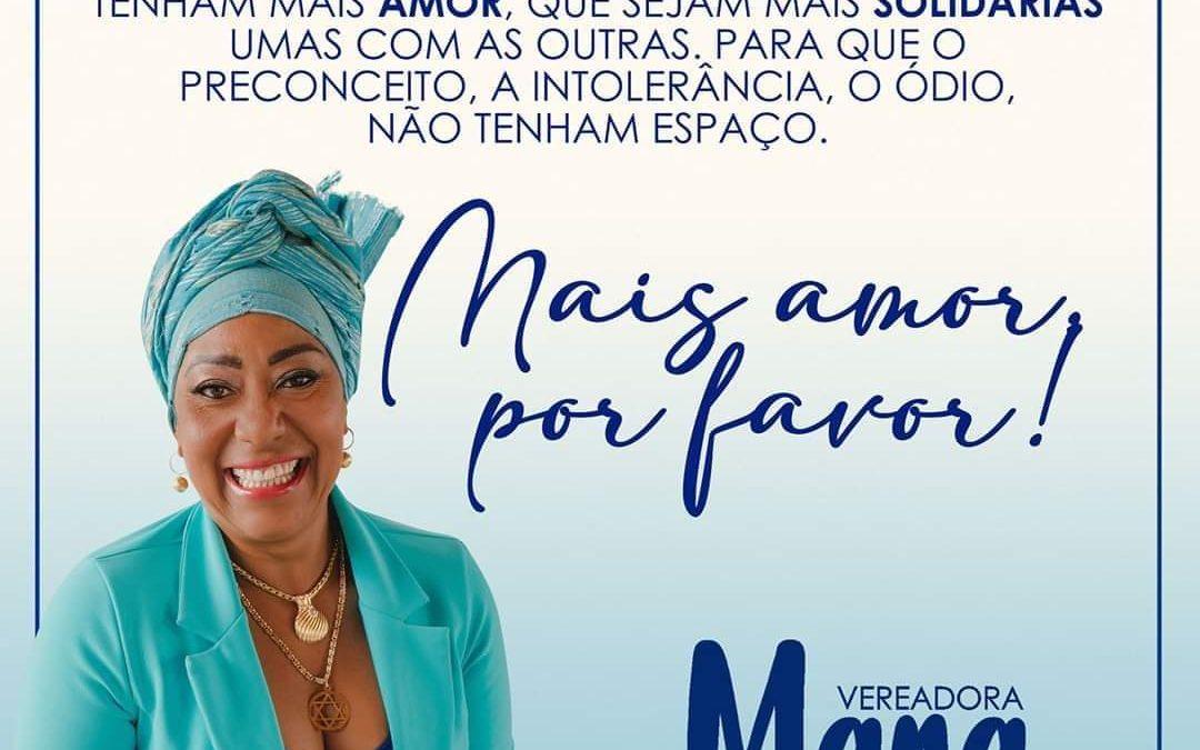 Muritiba: Vereadora Mara rebate ataques de intolerância religiosa: 'mais amor, por favor!'