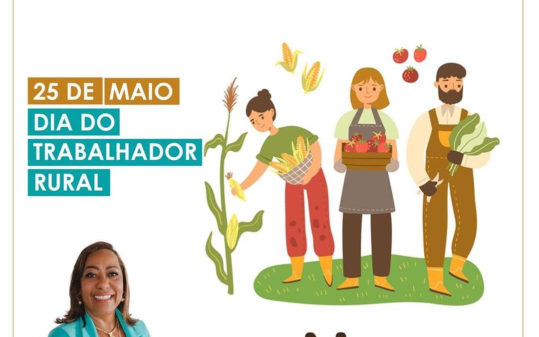 MURITIBA: Vereadora Mara faz homenagem aos trabalhadores e trabalhadoras rurais,parabéns guerreiros e guerreiras!