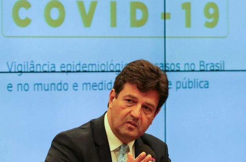 Mandetta diz que surto de coronavírus no Brasil 'está apenas começando'