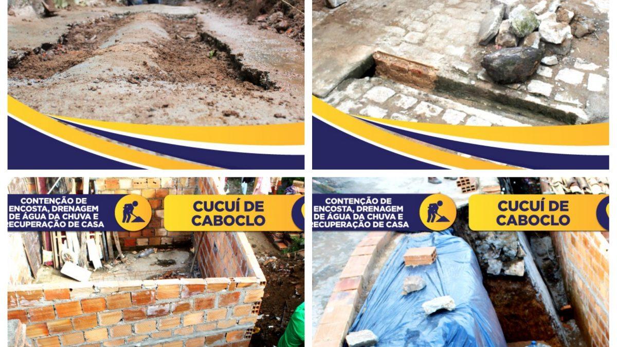 Prefeitura de Cachoeira, através da Secretaria de Obras e Meio Ambiente, está realizando diversos serviços por toda a cidade