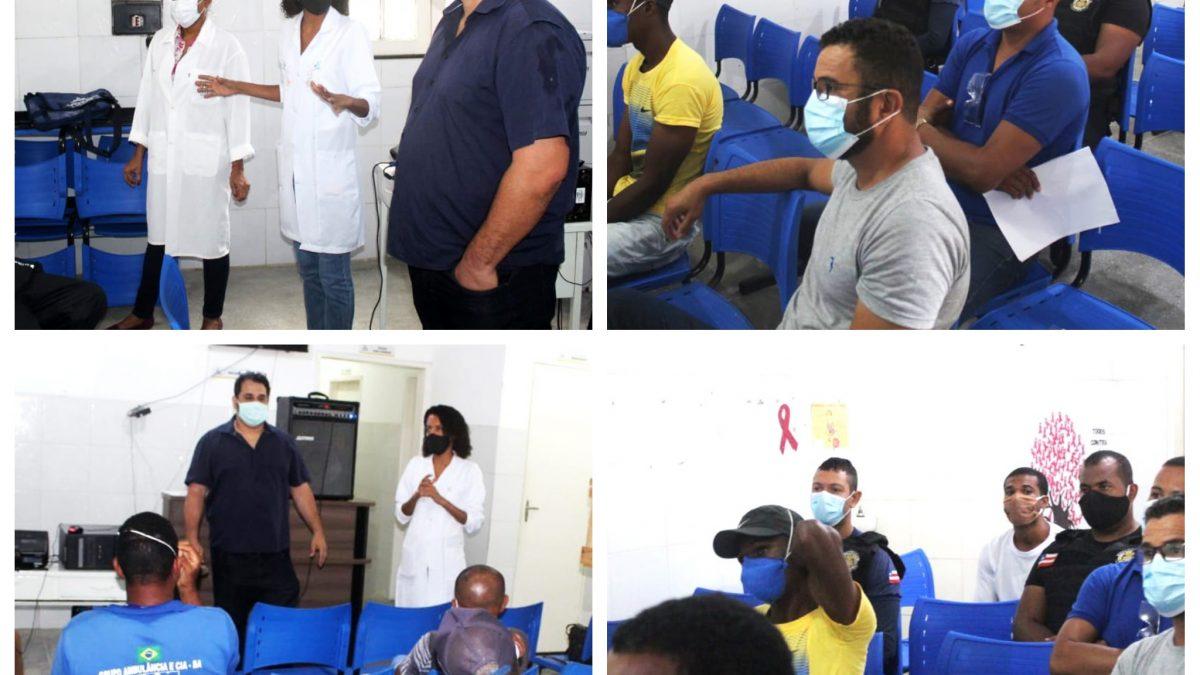CACHOEIRA: Prefeitura Capacita profissionais para atuação em casos de Covid-19