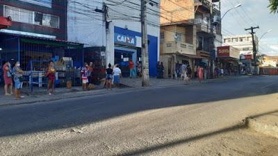 Primeiro dia de pagamento da 2ª parcela do auxílio emergencial tem filas menores na Bahia