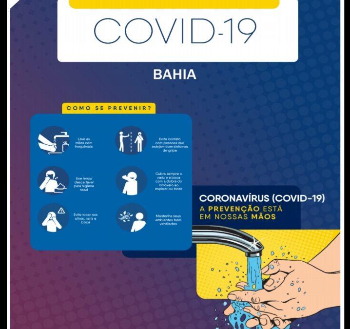 Bahia registra 35.788 casos confirmados de coronavírus
