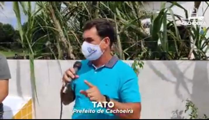 CACHOEIRA: Prefeitura entrega pavimentação na Murutuba!