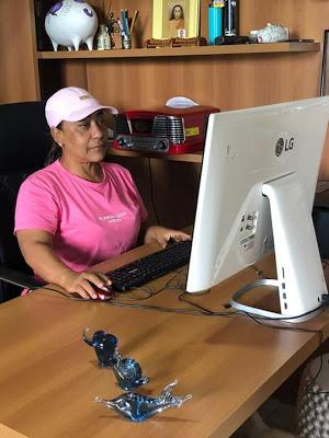 Muritiba: Vereadora Mara apresenta dica para o enfrentamento ao coronavírus durante o isolamento social