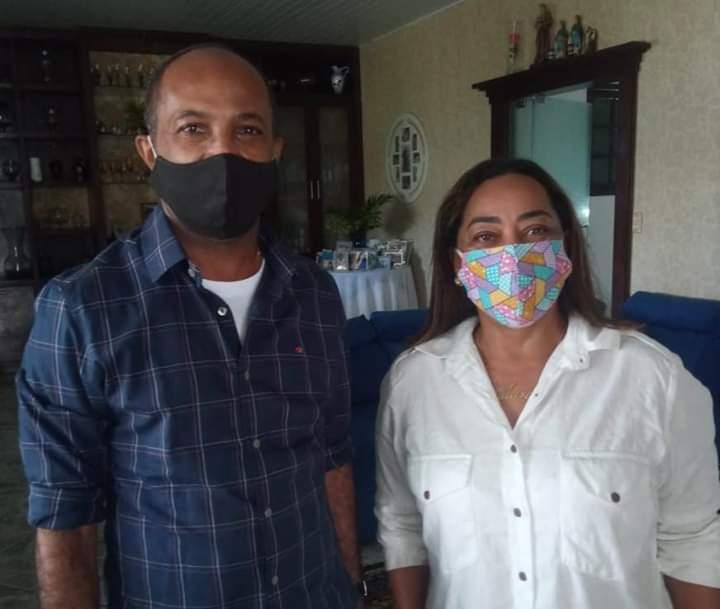 MURITIBA: Vereadora Mara recebeu em sua casa, o ex-deputado federal Bebeto Galvão