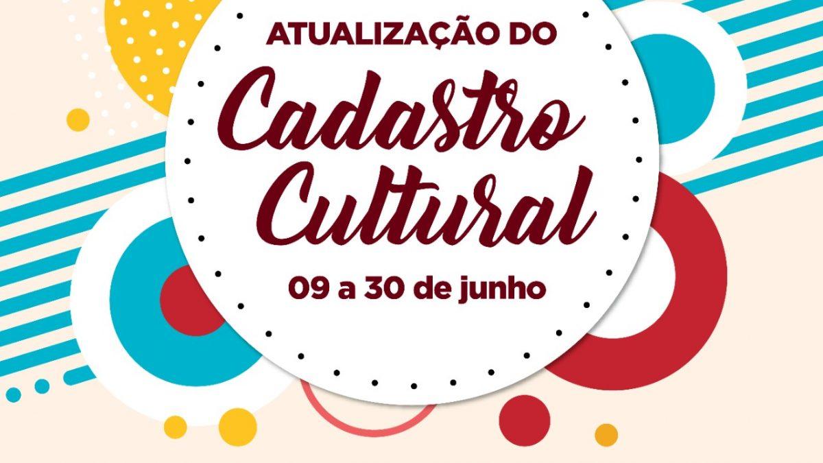 CACHOEIRA: Secretaria de Cultura convoca Artistas/Artesãos, Grupos Culturais, Bandas e Instituições para atualização de Cadastro Cultural