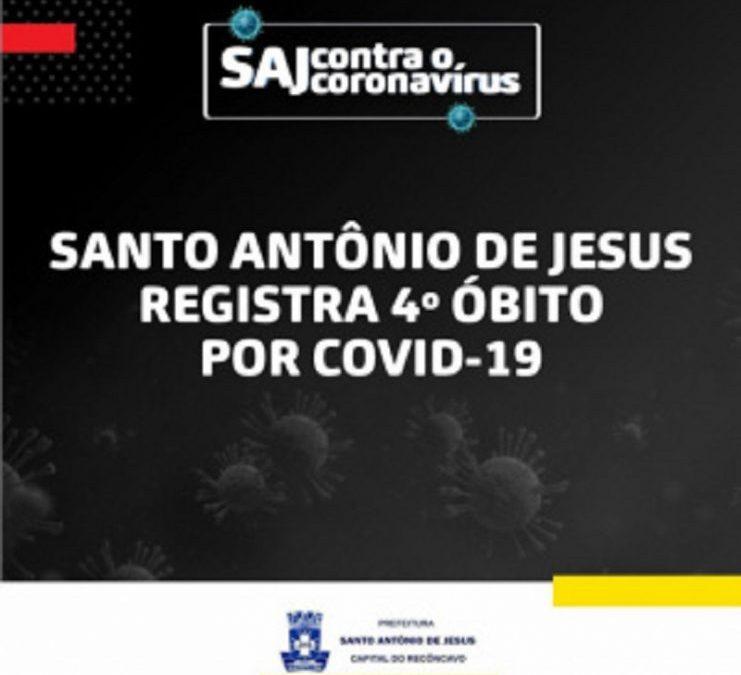 SAJ registra a quarta morte por Covid-19