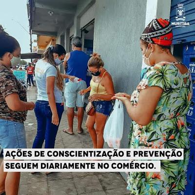Prefeitura de Muritiba segue com ações em combate ao Covid-19