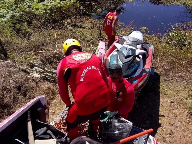 CABACEIRAS DO PARAGUAÇU : Dois corpos do naufrágio no Rio Paraguaçu são encontrados na manhã deste sábado (04)