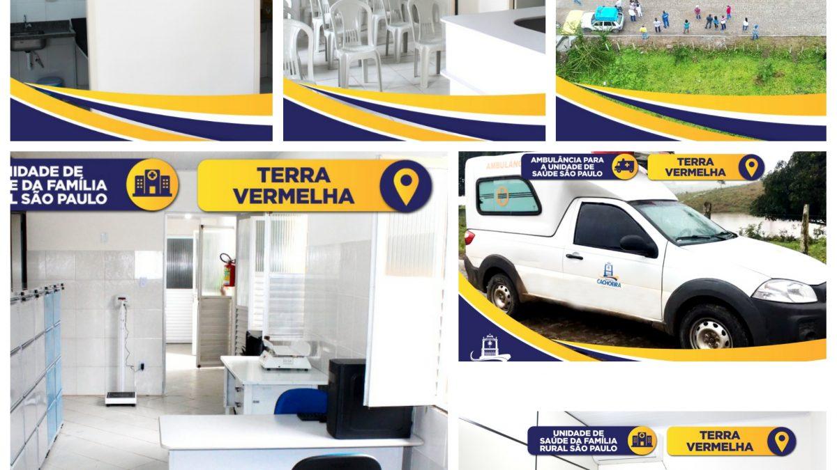 CACHOEIRA: UNIDADES DE SAÚDE EM PLENO FUNCIONAMENTO