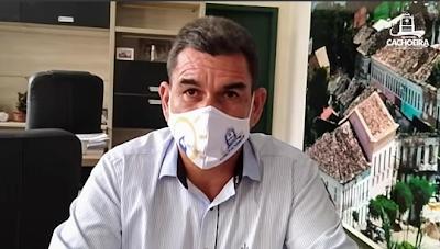 Prefeito divulga novas ações contra o coronavírus em Cachoeira