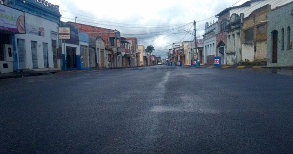 Medidas restritivas de isolamento social em Conceição da Feira entra em vigor