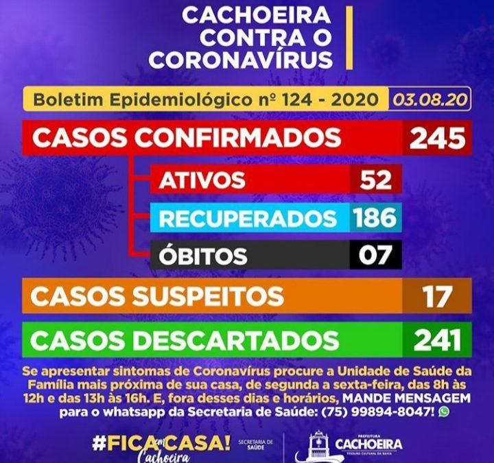 CACHOEIRA: 17 (dezessete) casos SUSPEITOS de Coronavírus foram identificados