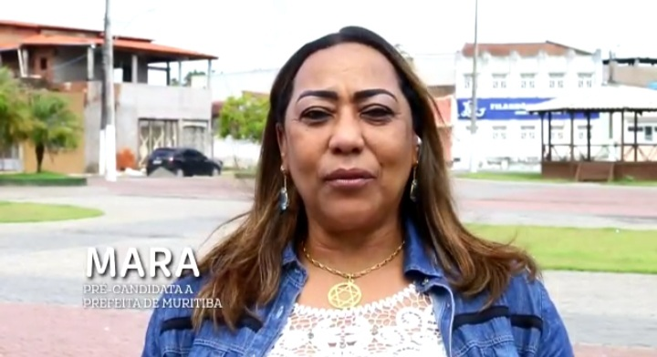 Vereadora e Pré – candidata a prefeita Mara parabeniza Muritiba pelos 101 anos