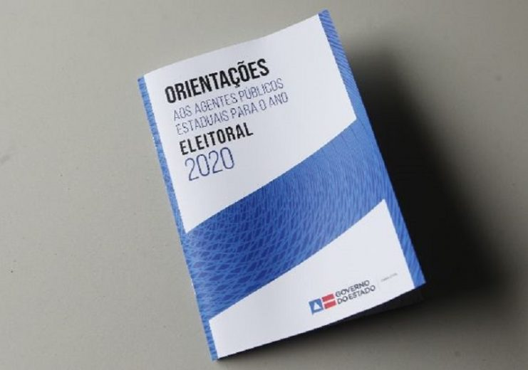 Governo da Bahia lança cartilha para agentes públicos em ano eleitoral