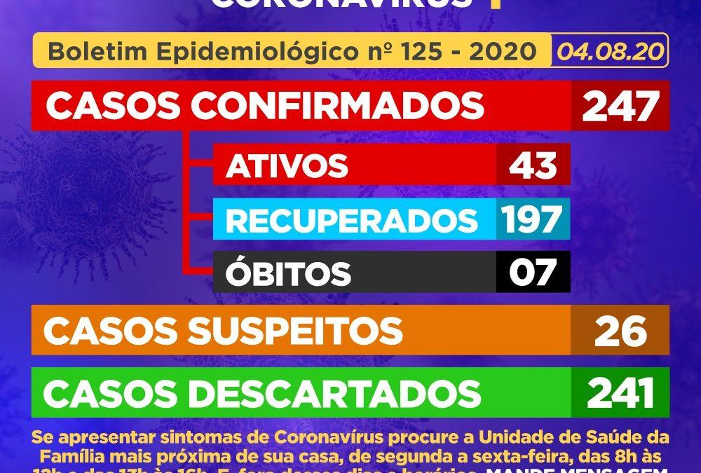 CACHOEIRA: Mais 02 (dois) casos suspeitos foram CONFIRMADOS como positivos para Coronavírus nesta terça-feira (04)