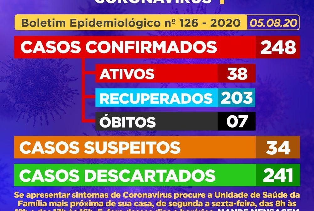 CACHOEIRA: Mais 01 (um) caso positivo de coronavírus  é detecdado