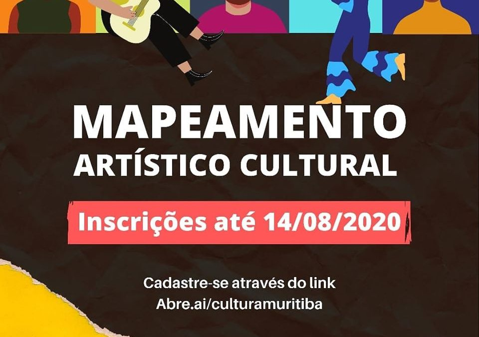Muritiba: Mapeamento Artístico vai até o dia 14/08