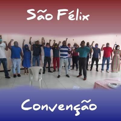 São Félix: PL realiza convenção partidária e confirma pré-candidatura de Clesinho Macedo e Pr. Gilvan