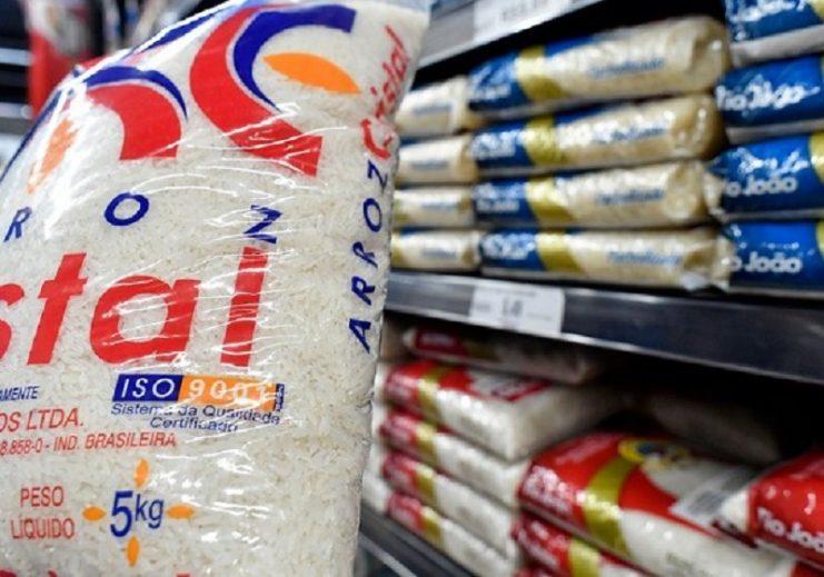 Preço do arroz deve se estabilizar na faixa de até R$ 35 o pacote com cinco quilos