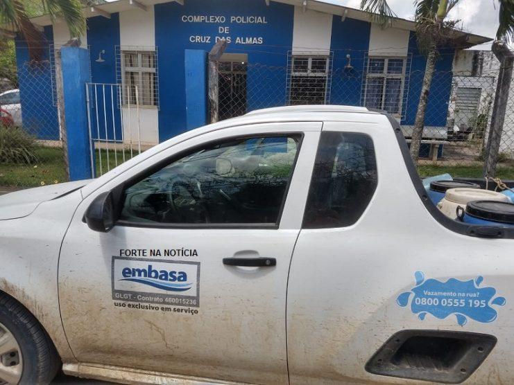 Estação de tratamento de água é arrombada em Cruz das Almas
