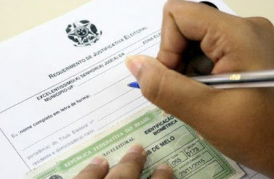 Ausência nas eleições pode ser justificada em até 60 dias