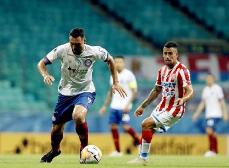 Bahia bate Unión Santa Fé e larga na frente nas oitavas da Sul-Americana