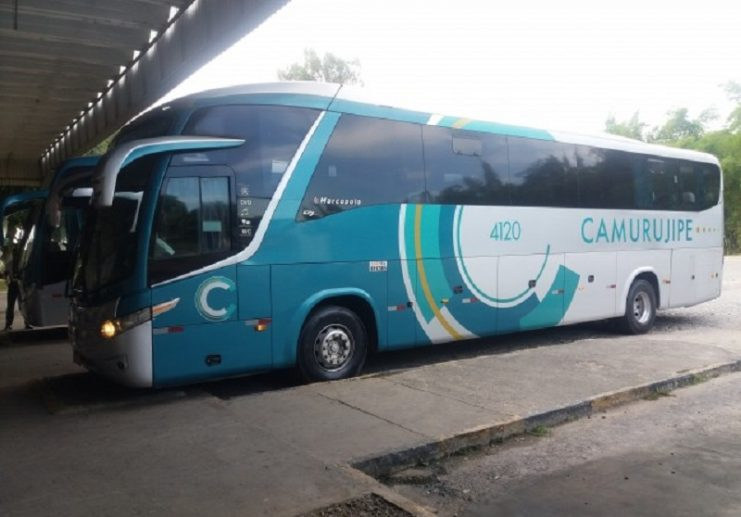 Homem é preso após danificar ônibus da Camurujipe em Cruz das Almas