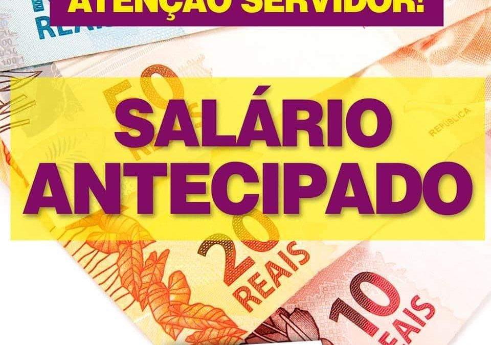 Prefeitura de Cachoeira antecipa salário de servidores