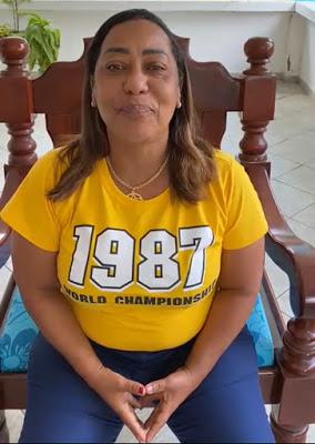 """Muritiba: candidata a prefeita, Mara, diz que adversários vão tentar acusá-la de colocar """"ebós"""" em frente aos locais de votação"""