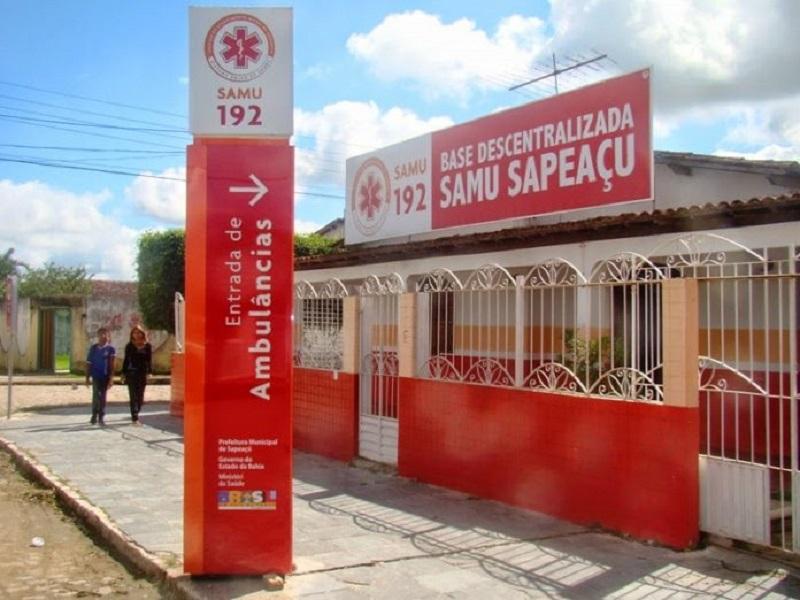 Serviço do SAMU é suspenso em Sapeaçu após profissionais testarem positivo para a Covid-19