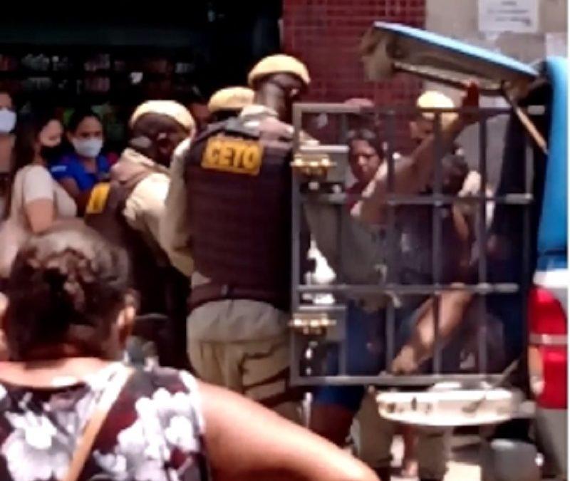 Três mulheres são presas após furtar vestidos em loja do centro de Santo Antônio de Jesus