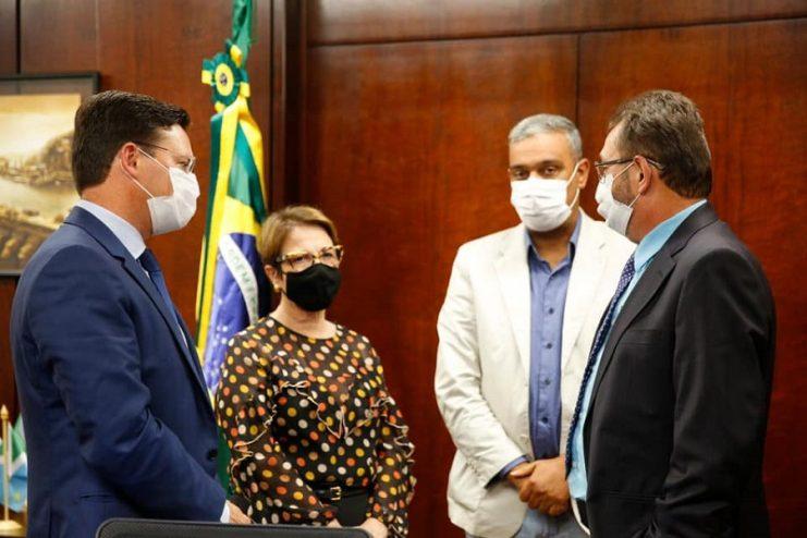 Em viagem à Brasília, Ednaldo e André buscam investimentos para Cruz das Almas